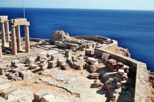 Acrópolis de Lindos (isla de Rodas)