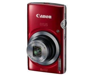 cámara-canon-ixus 160 roja