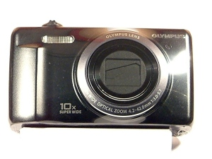 cámara compacta Olympus-zoom 10x-