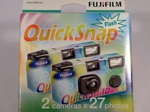 cámara-fotos desechable