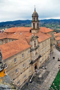 Convento visto desde el castillo de Monforte, Foto Figaredo, Gijón.