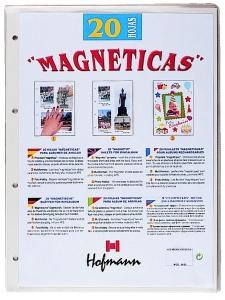 hoja magnética-