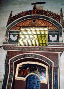 interior iglesia Santo Domingo de La Calzada-