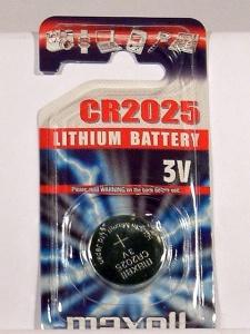 pila botón CR2025-