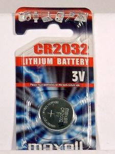 pila botón CR2032-