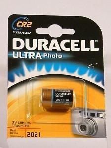 pila Duracell Ultra CR2-