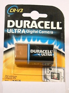 pila litio-Duracell Ultra CR-V3