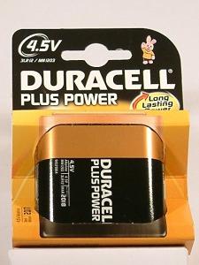 pila Petaca 4.5V.-Duracell Plus-