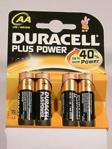 pilas Duracell Plus AA