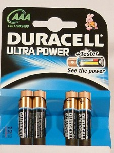 pilas Duracell Ultra AAA-