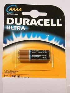 pilas Duracell Ultra AAAA-