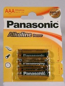pilas Panasonic LR03-AAA-