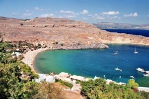 Playa de Lindos (isla de Rodas)
