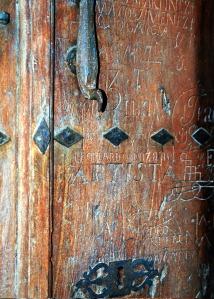 puerta antigua en Nájera