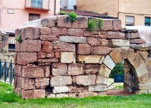 ruinas en Najera