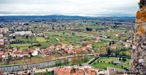vista desde castillo de Monforte. Foto Figaredo, Gijón