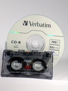 conversión cinta cassette a CD-