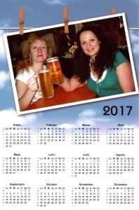 calendario con tu propia foto