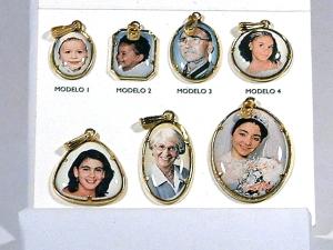fotos-colgantes de porcelana esmaltada-