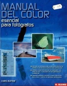 libro-Manual del color esencial para fotógrafos
