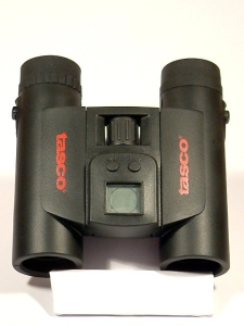prismáticos Tasco 10x25-con brújula,reloj y termómetro-