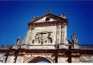 Detalle del Arco de San Benito-Sahagun