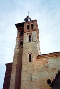 Torre de la iglesia parroquial de Grajal