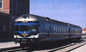 TER of RENFE (Spanish Railways) by WEFER, Web Ferroviaria. MGS.