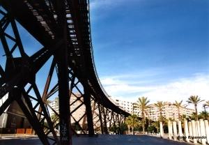 cargadero mineral Foto Figaredo Gijón