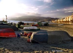 playa de Almería Foto Figaredo Gijón