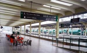 estación tren de Monforte de Lemos. Foto Figaredo, Gijón