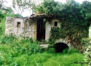 viejo molino de agua en La Planadera, Asturias. Foto Figaredo, Gijón
