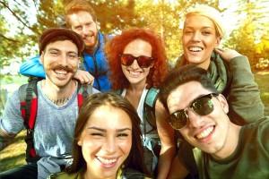foto de grupo de amigos