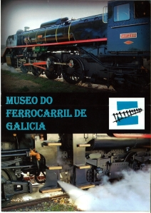 folleto del Museo del Ferrocarril de Monforte de Lemos