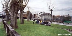 tren infantil. Foto Figaredo, Gijón