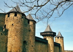 Torres del castillo de Carcasona. Foto Figaredo, Gijón.