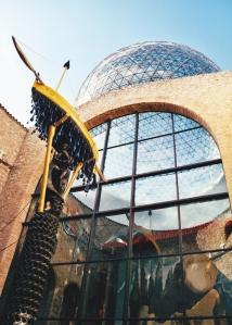 cúpula Museo Dalí. Foto Figaredo, Gijón