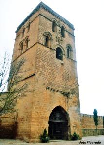 vista parcial de la iglesia de Santa María de los Reyes en Laguardia. Foto Figaredo, Gijón