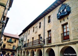 Ayuntamiento de Laguardia. Foto Figaredo, Gijón