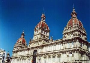Ayuntamiento de La Coruña. Foto Figaredo, Gijón