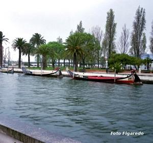 canales de Aveiro en Portugal. Foto Figaredo, Gijón