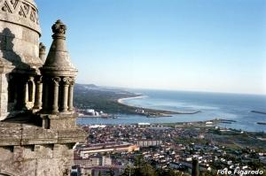 paisaje desde el santuario de Santa Lucía. Foto Figaredo, Gijón