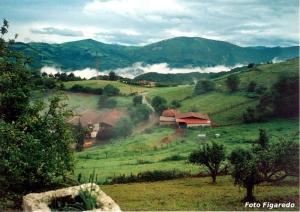 aldea de Santa Eufemia, Asturias. Foto Figaredo, Gijón