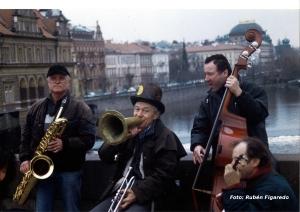 músicos callejeros. Foto de Rubén Figaredo