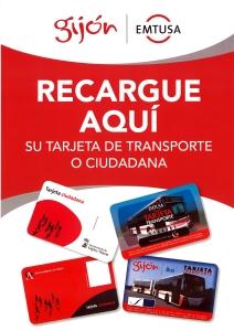 Recarga de tarjeta ciudadana en Foto Figaredo, Gijón