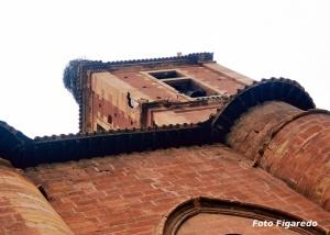 campanario de Santa María la Real en Nájera. Foto Figaredo, Gijón