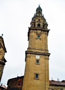 Torre de catedral de Santo Domingo de la Calzada. Foto Figaredo, Gijón