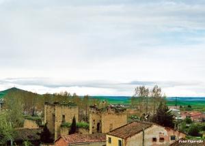 Vista parcial de Santo Domingo de la Calzada. Foto Figaredo, Gijón
