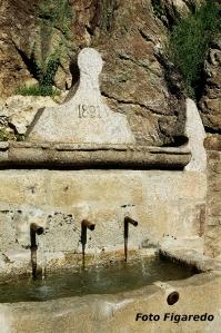 Detalle de la Fuente de la Higuera. Foto Figaredo, Gijón