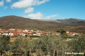 Pueblo de Cuacos de Yuste. Vista parcial. Foto Figaredo, Gijón